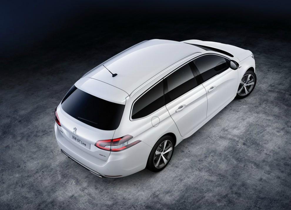 Peugeot 308 e 508 SW nella nuova versione GT Line - Foto 11 di 12