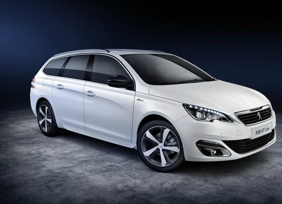 Peugeot 308 e 508 SW nella nuova versione GT Line - Foto 2 di 12