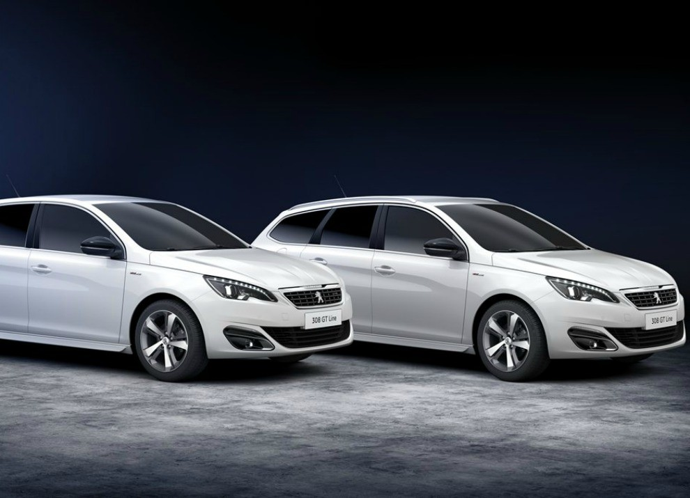 Peugeot 308 e 508 SW nella nuova versione GT Line - Foto 1 di 12