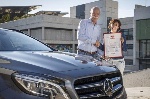 Mercedes GLA conquista il premio Auto più Bella del Web 2014