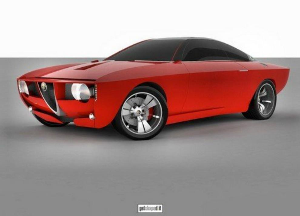 Nuova Alfa Romeo Giulietta: sarà a trazione posteriore - Foto 5 di 7