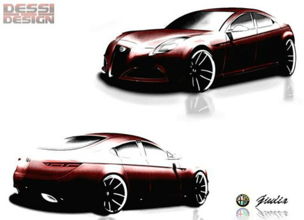 Nuova Alfa Romeo Giulietta: sarà a trazione posteriore - Foto 3 di 7