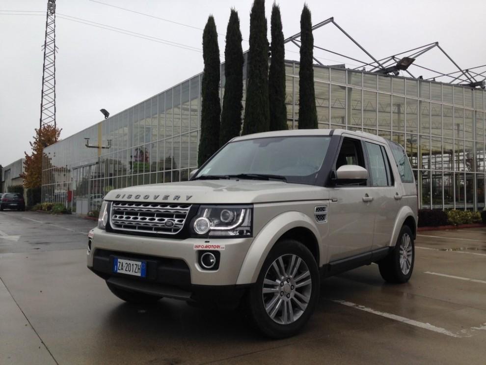 Land Rover Discovery 4 prova su strada e fuoristrada - Foto 26 di 27