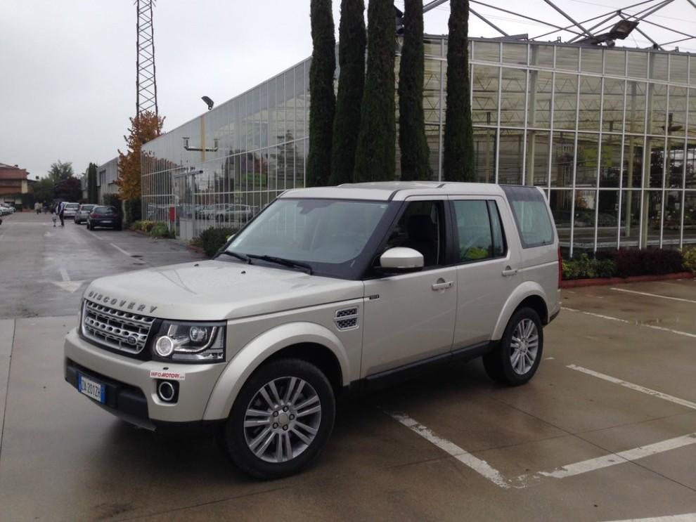Land Rover Discovery 4 prova su strada e fuoristrada - Foto 27 di 27