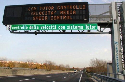 Multe con Tutor delle Autostrade: potrebbero essere nulle?