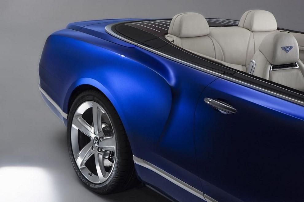 Bentley Grand Convertible Concept - Foto 7 di 11