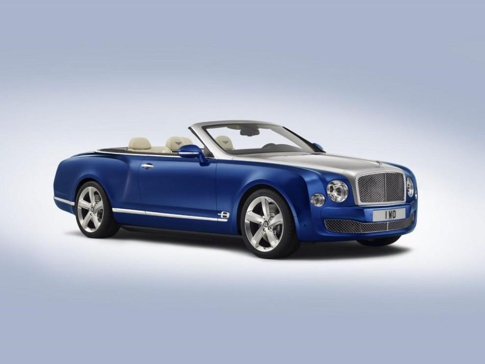 Bentley Grand Convertible Concept - Foto 5 di 11