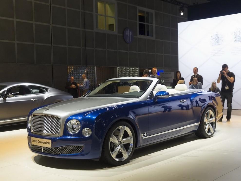 Bentley Grand Convertible Concept - Foto 1 di 11