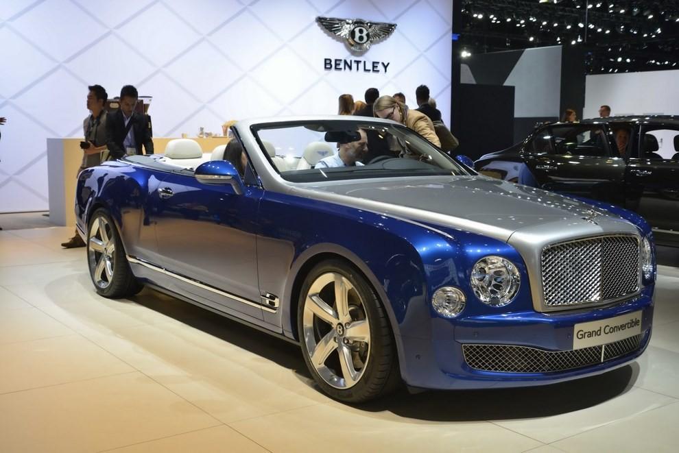 Bentley Grand Convertible Concept - Foto 2 di 11