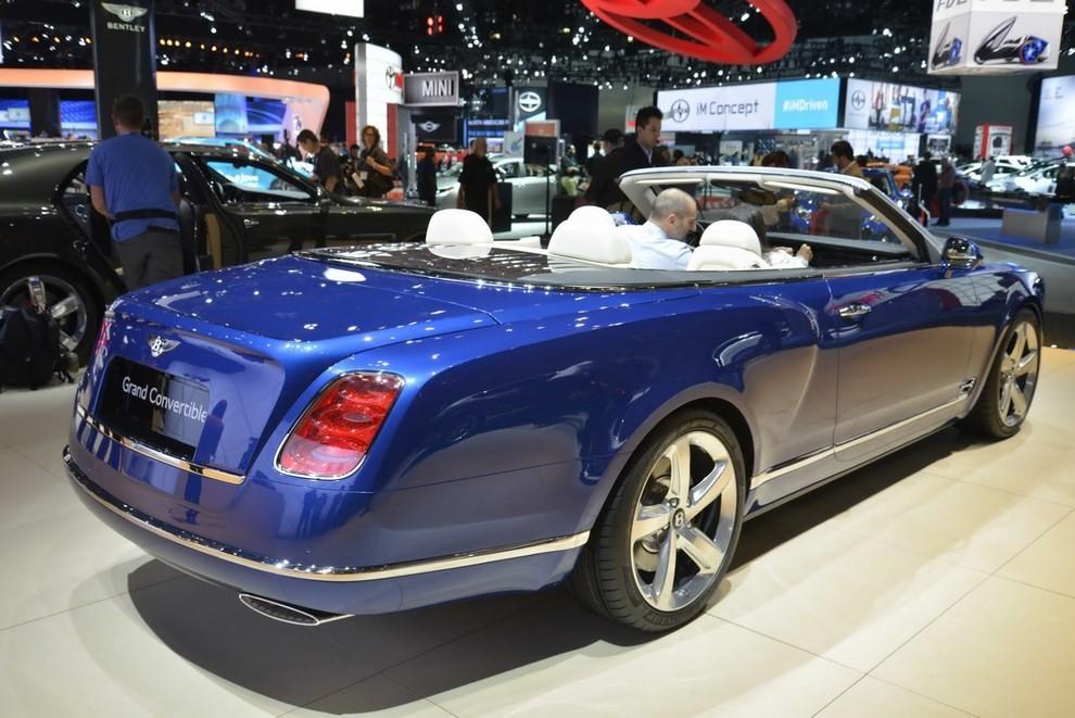 Bentley Grand Convertible Concept - Foto 3 di 11