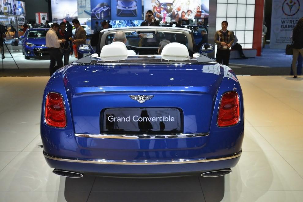 Bentley Grand Convertible Concept - Foto 4 di 11