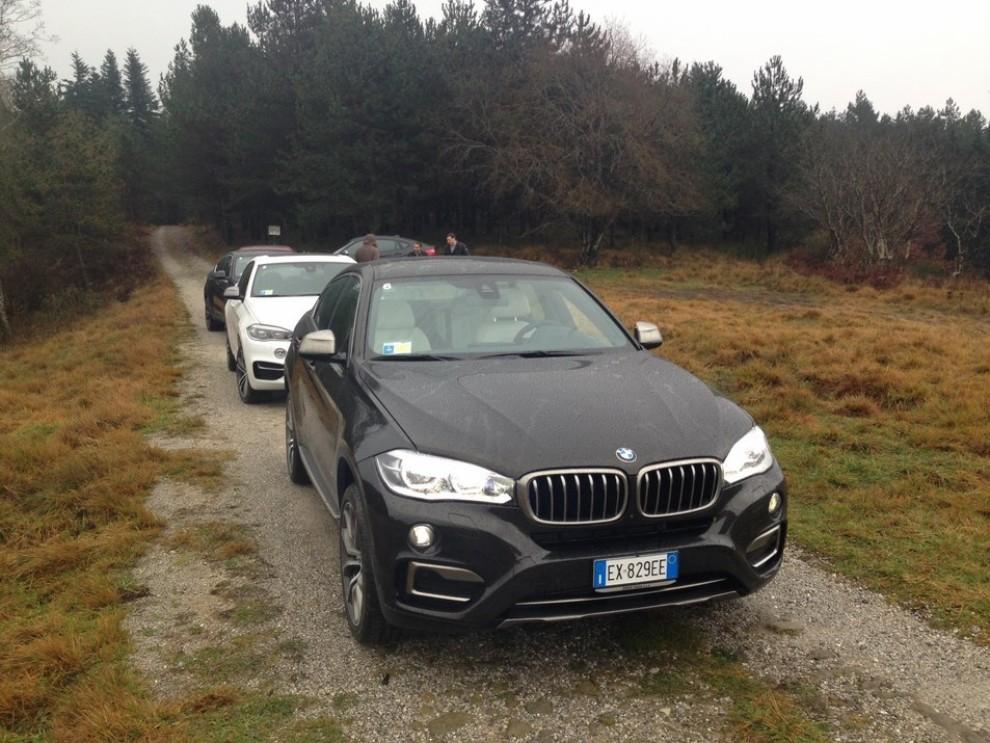 Nuova BMW X6 prova su strada, motorizzazioni e prezzi da 70.890 euro - Foto 5 di 25