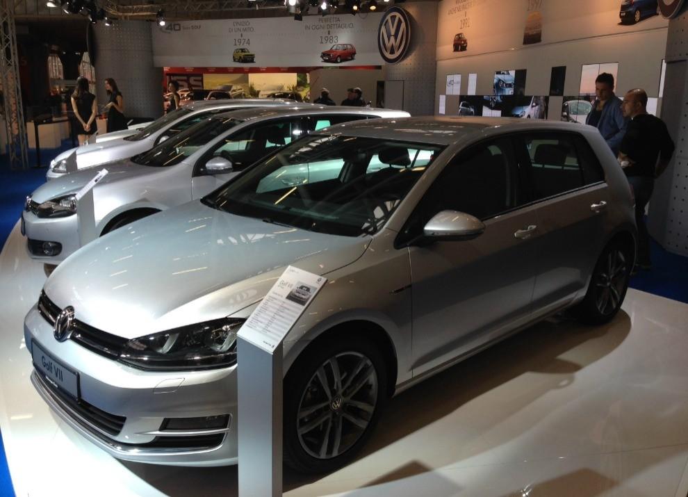 Volkswagen Golf l'evoluzione al Motor Show di Bologna 2014 in un'ampia gallery - Foto 10 di 13