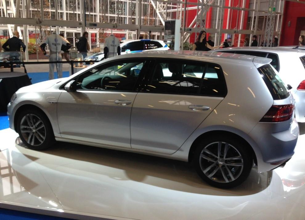 Volkswagen Golf l'evoluzione al Motor Show di Bologna 2014 in un'ampia gallery - Foto 11 di 13