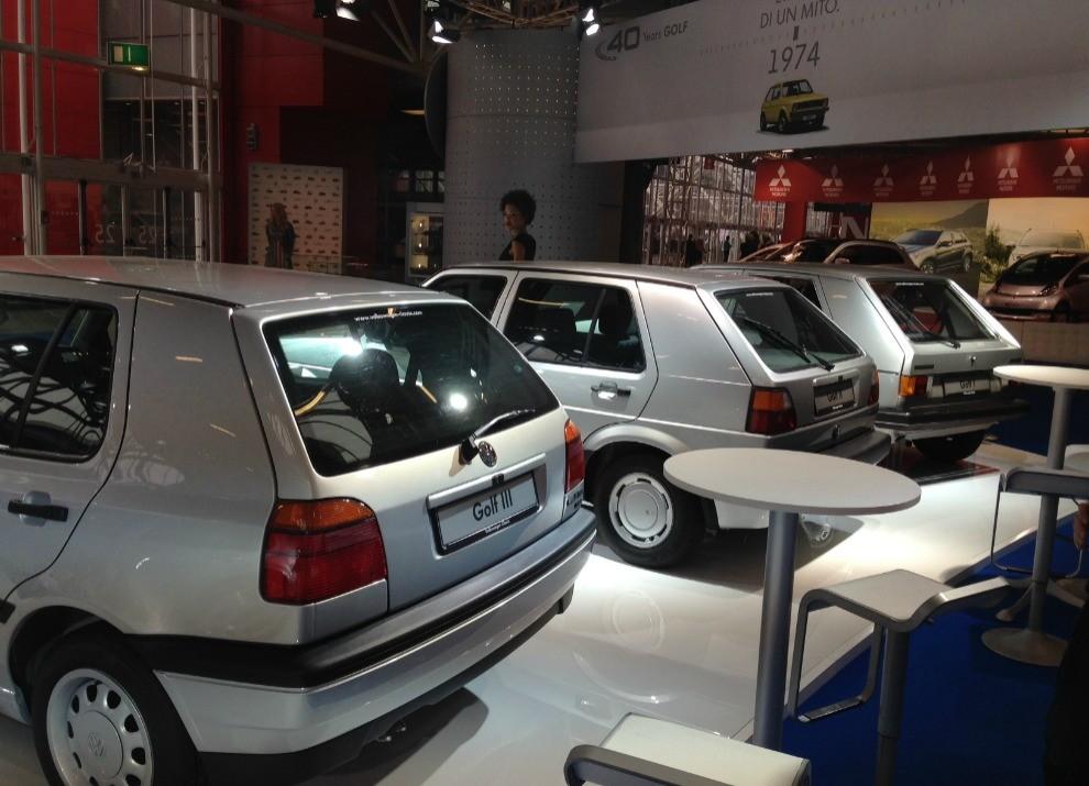 Volkswagen Golf l'evoluzione al Motor Show di Bologna 2014 in un'ampia gallery - Foto 12 di 13