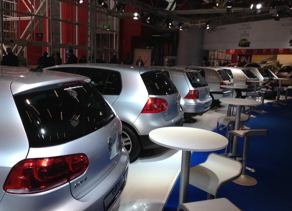 Volkswagen Golf l'evoluzione al Motor Show di Bologna 2014 in un'ampia gallery - Foto 13 di 13