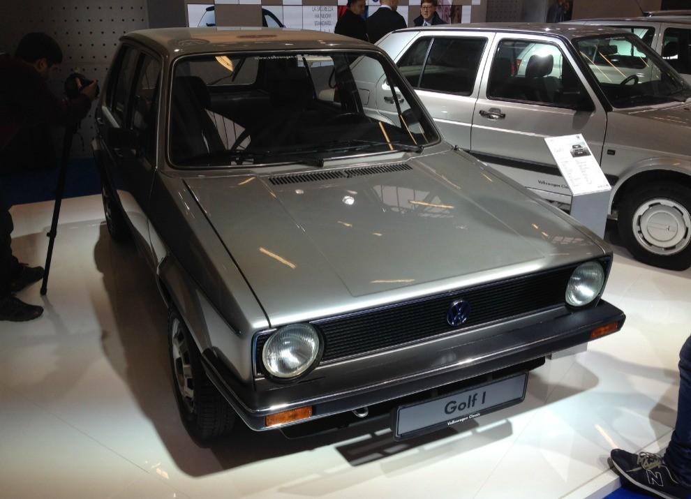 Volkswagen Golf l'evoluzione al Motor Show di Bologna 2014 in un'ampia gallery - Foto 2 di 13