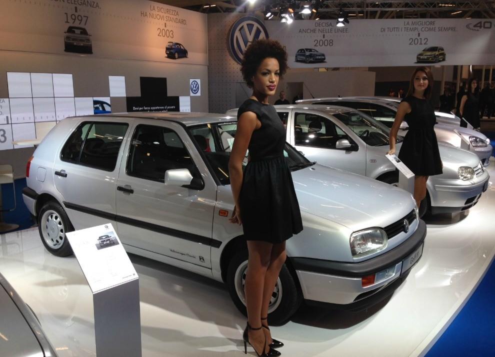 Volkswagen Golf l'evoluzione al Motor Show di Bologna 2014 in un'ampia gallery - Foto 4 di 13