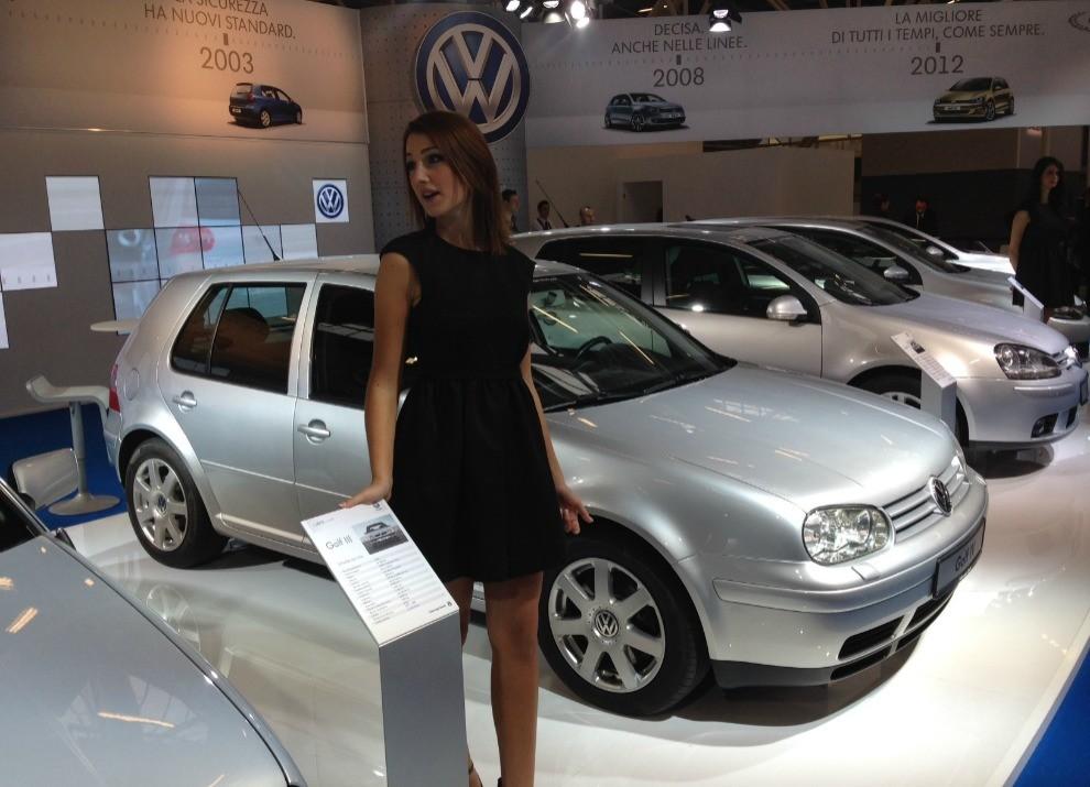 Volkswagen Golf l'evoluzione al Motor Show di Bologna 2014 in un'ampia gallery - Foto 5 di 13