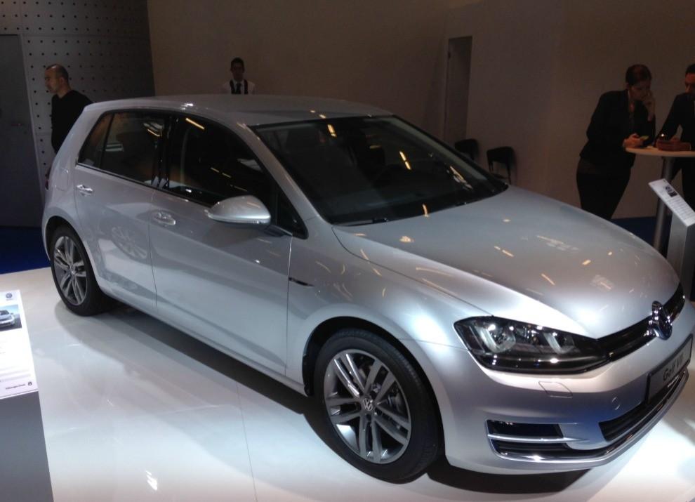 Volkswagen Golf l'evoluzione al Motor Show di Bologna 2014 in un'ampia gallery - Foto 9 di 13