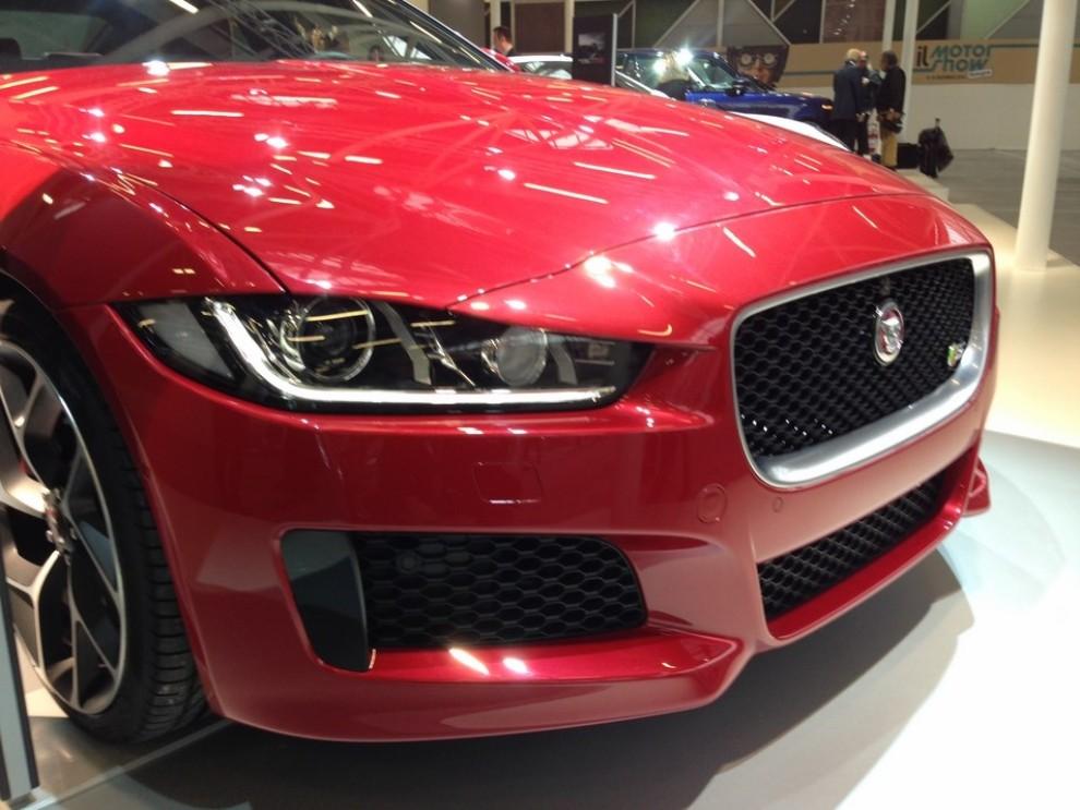 Nuova Jaguar XE anteprima nazionale al Motor Show 2014 - Foto 1 di 7