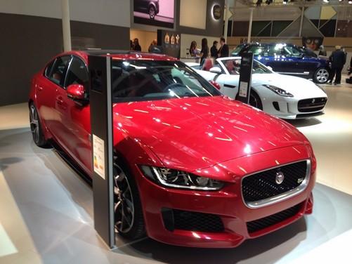 Nuova Jaguar XE anteprima nazionale al Motor Show 2014