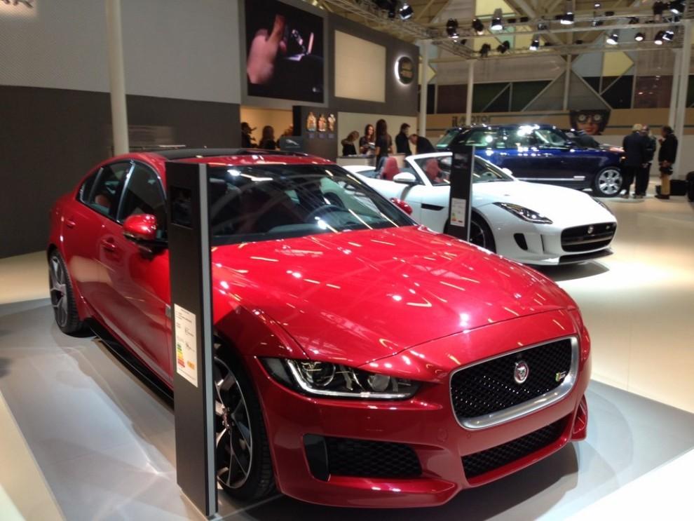 Nuova Jaguar XE anteprima nazionale al Motor Show 2014 - Foto 7 di 7