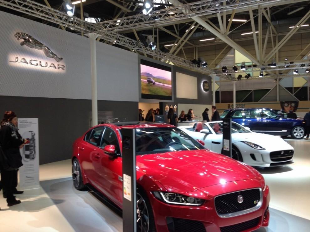 Nuova Jaguar XE anteprima nazionale al Motor Show 2014 - Foto 5 di 7