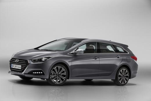 Hyundai i40 facelift di metà carriera