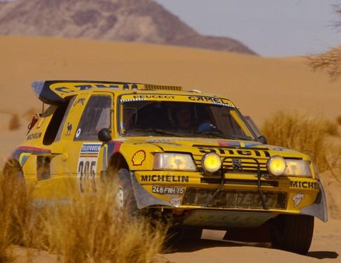 Parigi-Dakar 1987: la 205 T16 Grand Raid alla prova del deserto