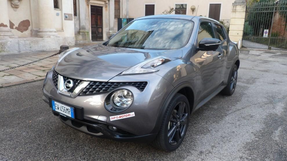 Nuova Nissan Juke 1.5 DCI 2WD Tekna prova su strada e prezzi - Foto 1 di 20