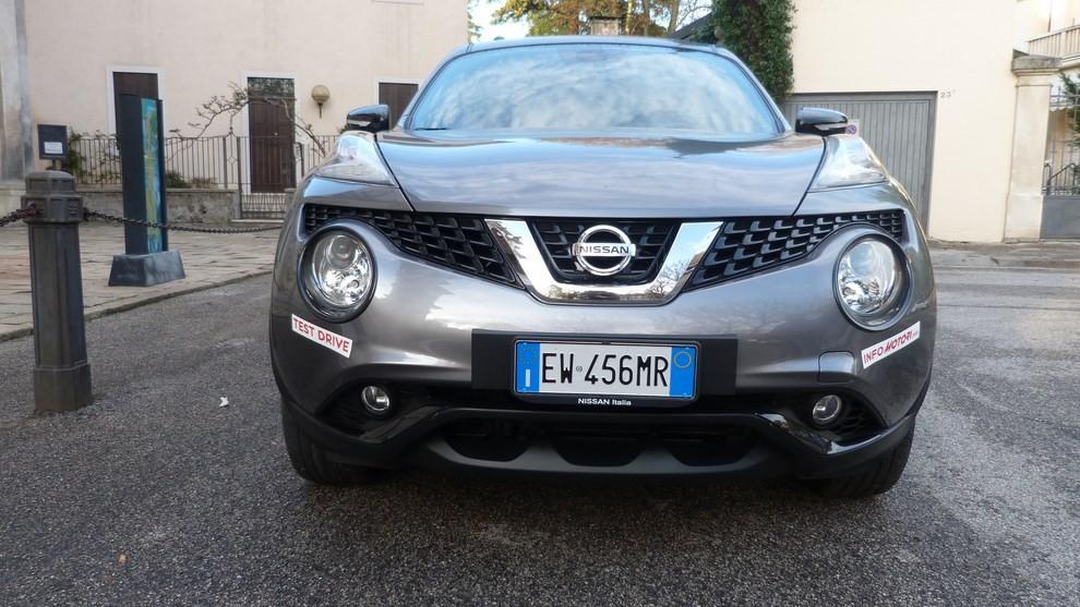 Nuova Nissan Juke 1.5 DCI 2WD Tekna prova su strada e prezzi - Foto 3 di 20