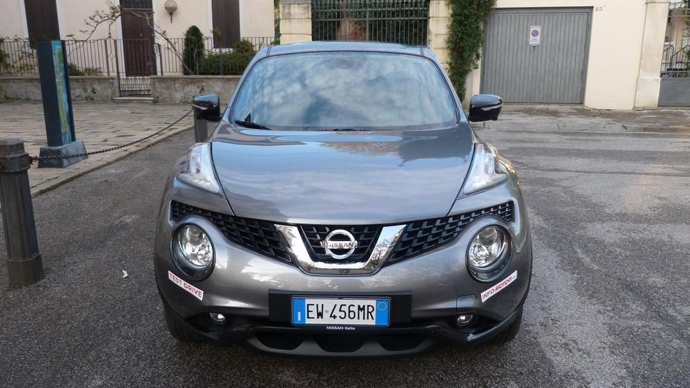Nuova Nissan Juke 1.5 DCI 2WD Tekna prova su strada e prezzi - Foto 8 di 20