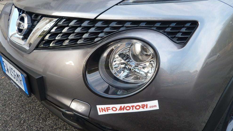 Nuova Nissan Juke 1.5 DCI 2WD Tekna prova su strada e prezzi - Foto 7 di 20