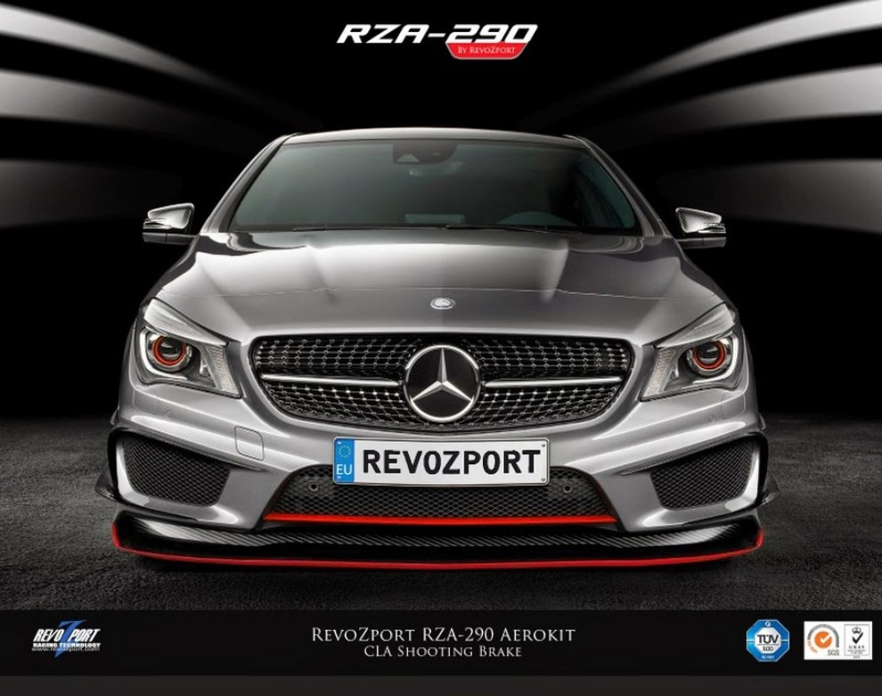 Mercedes CLA 45 AMG Shooting Brake by RevoZport - Foto 4 di 6