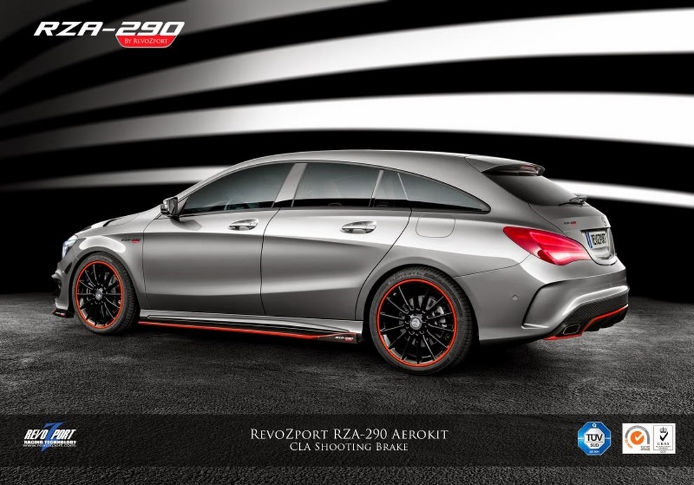 Mercedes CLA 45 AMG Shooting Brake by RevoZport - Foto 5 di 6