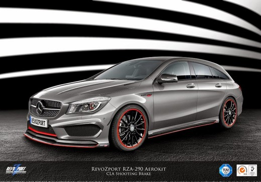 Mercedes CLA 45 AMG Shooting Brake by RevoZport