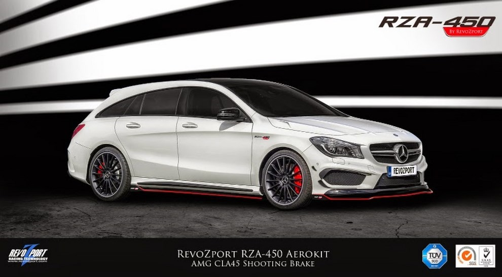 Mercedes CLA 45 AMG Shooting Brake by RevoZport - Foto 2 di 6