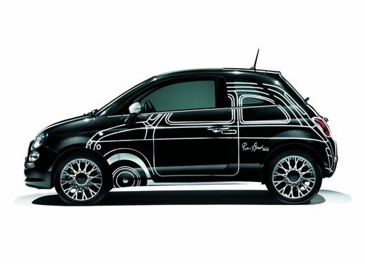 """Fiat 500 """"Ron Arad Edition"""" al prezzo di 19.000 euro"""