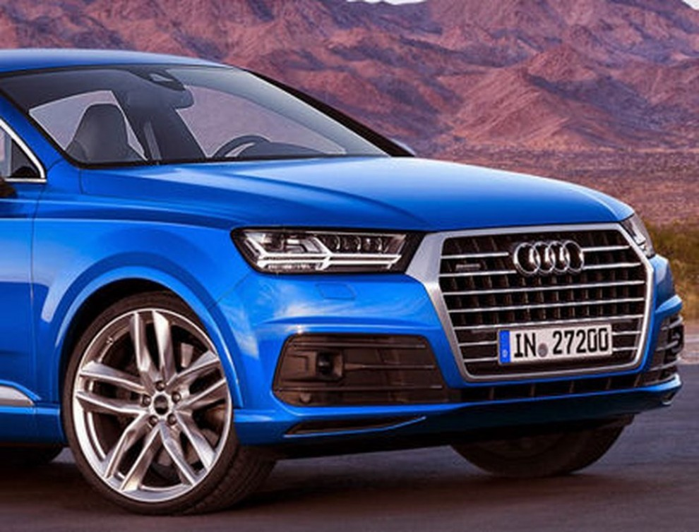 Audi Q8, rendering con il design del nuovo Q7 - Foto 3 di 3