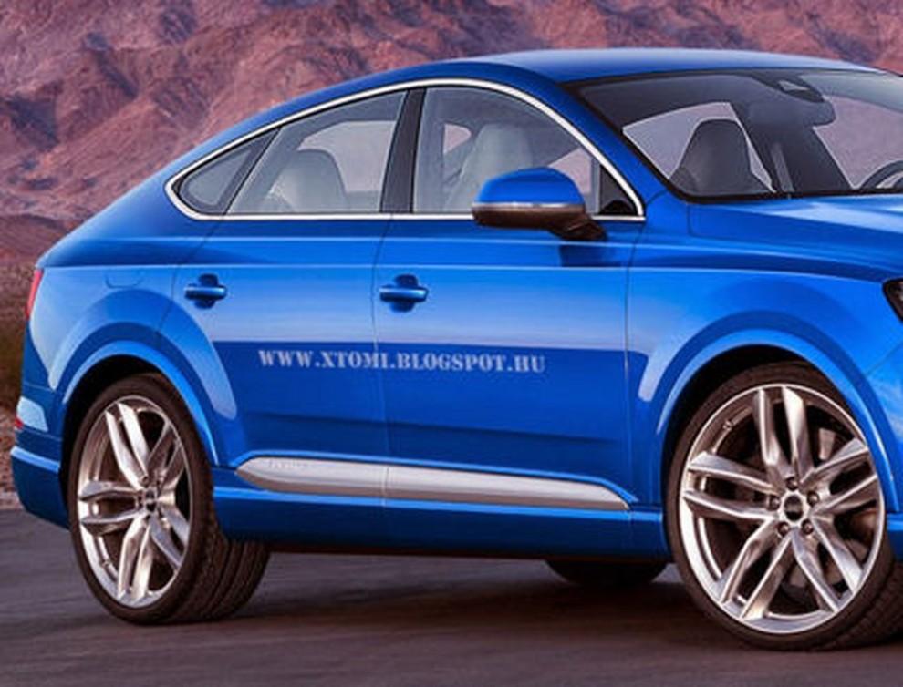 Audi Q8, rendering con il design del nuovo Q7 - Foto 2 di 3