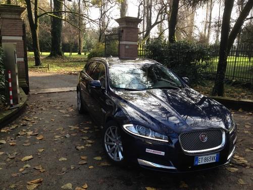 Jaguar XF Sportbrake 2.2 D 200 Cv prova su strada e prezzi