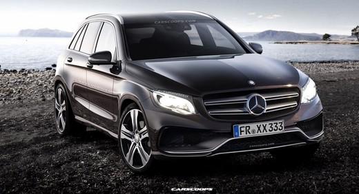 Mercedes GLC: cambio di nome e di linea