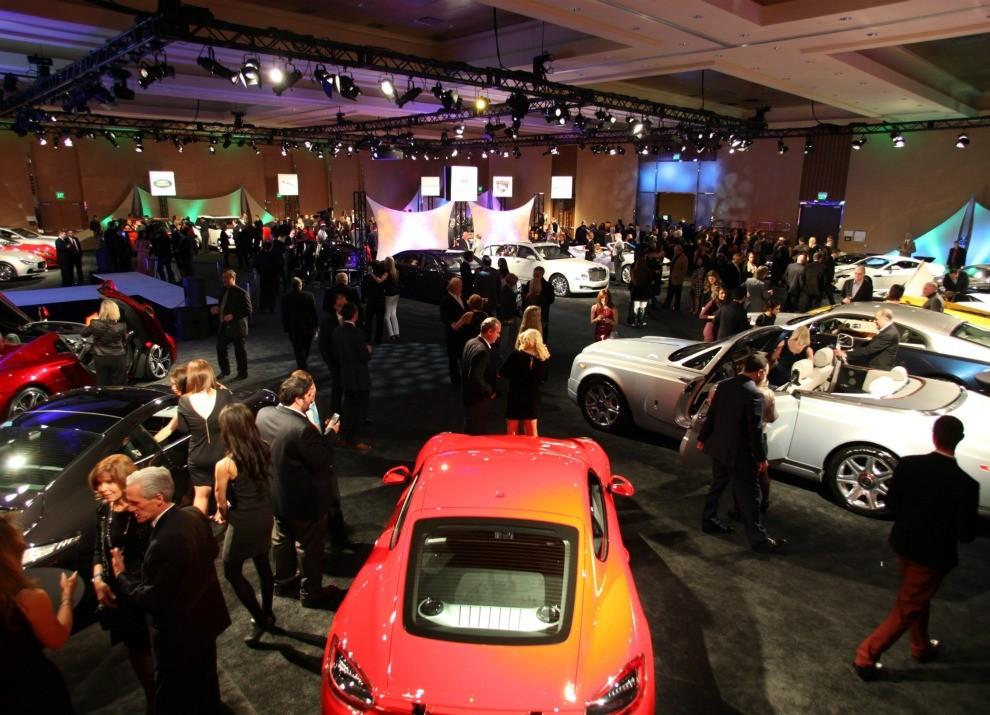 Panoramica degli stand al Salone di Detroit 2015 - Foto 4 di 8