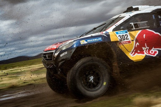 Le Peugeot 2008 DKR nell'inverno boliviano