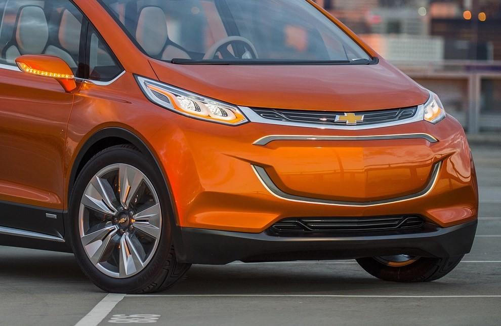Chevrolet Bolt EV: l'elettrica per il salone di Detroit - Foto 10 di 10