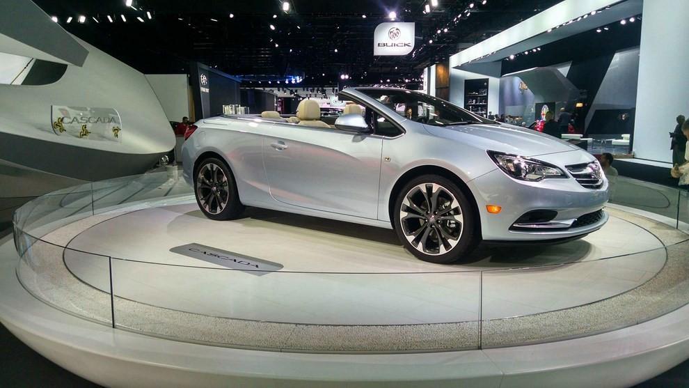 Nuova Opel Cascada: presentata a Detroit con il marchio Buick - Foto 2 di 4