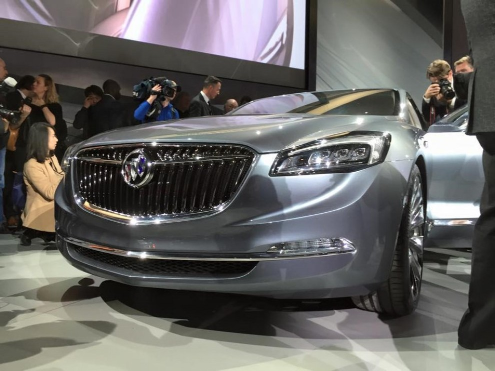 Nuova Opel Cascada: presentata a Detroit con il marchio Buick - Foto 4 di 4