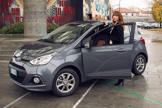 Chiara Francini sceglie Hyundai i10 Sound Edition
