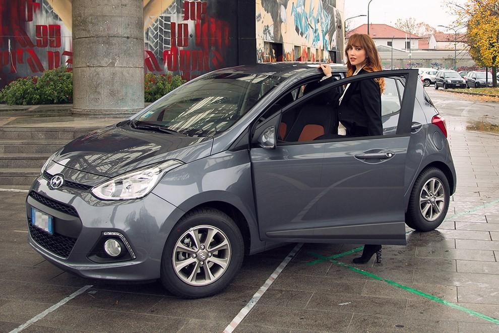 Chiara Francini sceglie Hyundai i10 Sound Edition - Foto 1 di 3
